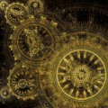 Clockwork abstract background
